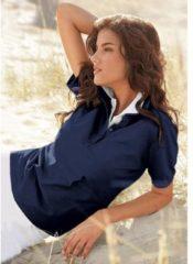 Blauwe Casual Looks poloshirt in prachtige zomerkleuren