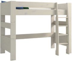 DS Style Hoogslaper Kids 90x200cm breed in wit whitewash