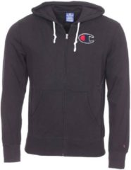 Zwarte Zweet Champion Hooded Full Zip Sweatshirt