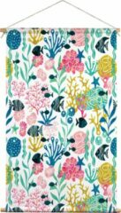 We Maqe textielposter koraal HvdT 45x70 cm