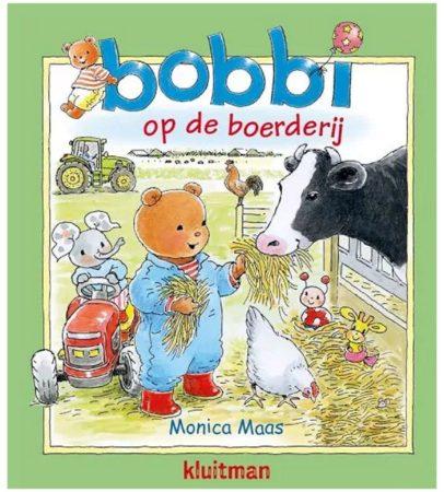 Afbeelding van Kluitman Boek Bobbi op de Boerderij Kartonboek
