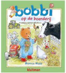 Kluitman Boek Bobbi op de Boerderij Kartonboek