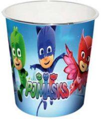 Blauwe Disney prullenbak PJ Masks 24 cm 8 L blauw