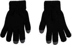 Merkloos / Sans marque Thermo handschoenen voor dames zwart met touch tip - Wintersport kleding - Thermokleding - Smartphone compatible - Touch handschoen - Touchscreen vinger