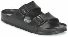Zwarte Birkenstock Women's Arizona Eva Double Strap Sandals - Black - EU 38/UK 5 - Black