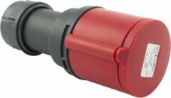 Abl Contrastekker Cee Norm 400V 32A 3P + Aarde Rood