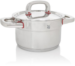 Roestvrijstalen WMF Premium One kookpan met deksel 16 cm