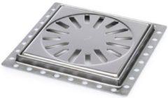 Zilveren Plieger Miro renovatieput 150x150mm RVS 2300000