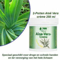 Pullach hof 2-Potten Aloë Vera Crème 250 ml