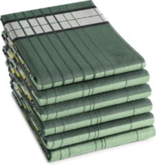 Ddddd Theedoek Helsinki 60x65cm - Mint groen - Set Van 6