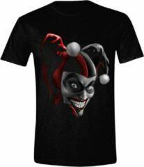 Zwarte DC Comics Heren T-shirt Maat M