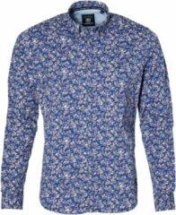 Lerros Overhemd - Modern Fit - Paars - 4XL Grote Maten