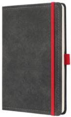 !weekagenda Sigel Conceptum design vintage donkergrijs A5 192 blz. 80g 2 Pag. = 1 Week