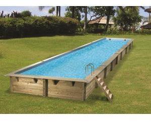 Afbeelding van Ubbink Zwembad Linea 350x1550 - Blauw