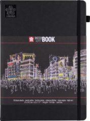 Bruynzeel Schets-notitieboek Sakura A4 zwart