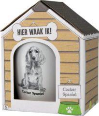 Witte Paper dreams Mok – Cocker spaniel – Dier – Puppy – Hond – Dieren – Mokken en bekers – Keramiek – Mokken - Porselein - Honden – Cadeau - Kado