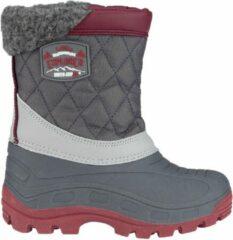 Antraciet-grijze Winter-grip Snowboots - Northern Peak - Antraciet/Grijs/Bordeaux - 37/38