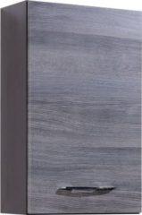 HELD Möbel Florida Hängeschrank - 40 cm, Eiche-Rauchsilber/Graphitgrau