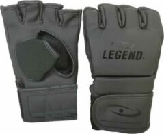 Legend Sports Mma-handschoenen Legend Flow Matzwart Maat Xl