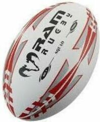 RAM Rugtby Grootste Rugby Shop RamRugby Squad Training Bal Maat 5 - Rood