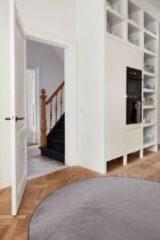 Interieur05 Laagpolig Rond Vloerkleed Grijs - Roundy-[Afmetingen:200 Ø]-[Afmetingen:200 Ø]