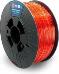 Fill 3D PETG Red Transparent (rood transparant) 1 kg