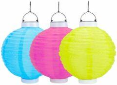 Solar tuinlampion - diverse kleuren - ⌀25 cm