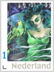 Blauwe Fransje Tacx, Art & Communication Postzegels voor post - Be with You (10 stuks kopen)