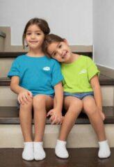 Blauwe Pixeline Fresh #Blue 142/152 12 jaar - Kinderen - Baby - Kids - Peuter - Babykleding - Kinderkleding - T shirt kids - Kindershirts - Pixeline - Peuterkleding
