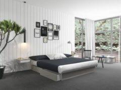 Silversleep Wasserbett mit Stauraumsockel, 180 x 220 cm, Mono - System, silber, stark beruhigt