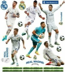 Real Madrid Muursticker 11 Spelers 2 Stickervellen
