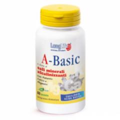 Longlife A-Basic sali minerali per l'organismo 60 tavolette