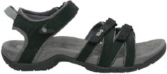 Teva - Women's Tirra Leather - Sandalen maat 11, zwart