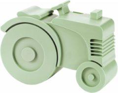 Brooddoos tractor zacht groen | Blafre