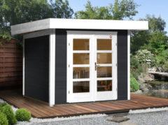 WEKA | Designhuis 126 Gr.3 | 295x300 cm | Antraciet