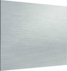Zambala Uni Metallic Aluminium keuken spatwand voor fornuis 80x80 cm