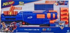 Blauwe Hasbro NERF N-Strike Elite Trilogy DS-15 - Blaster