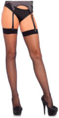 Zwarte Leg Avenue Micro net spandex stockings
