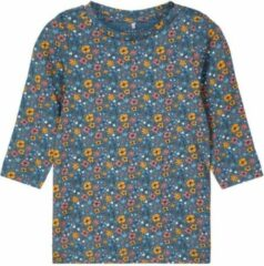 Name it Name-it Meisjes Tshirt Silke Rela Teal - 56