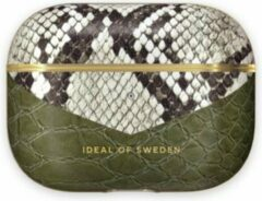 Groene IDeal of Sweden AirPods Case PU voor Pro Hypnotic Snake