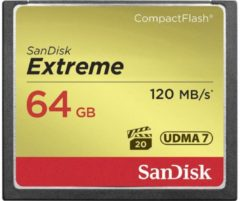 SanDisk 64GB 120MB/s Extreme Compact Flash Memory Cards - SDCFXSB-064G