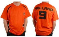 Oranje Warenhuisgigant Voetbalshirt Badge Nederland
