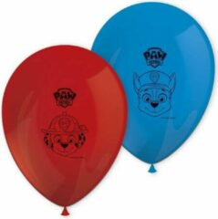 Rode PAW Patrol speelgoed - PAW Patrol ballonnen - PAW Patrol versiering - Verjaardag - 6 Ballonnen - 21 cm