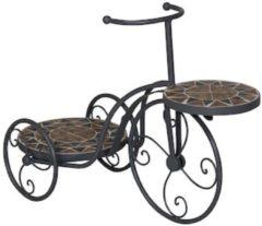 Gardissimo Mosaik-Fahrrad-Planzenständer Gardissimo Bronze