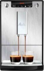 Zilveren Melitta Caffeo Solo Limited Edition - Volautomaat Espressomachine - Zilver met Nerven E950-111