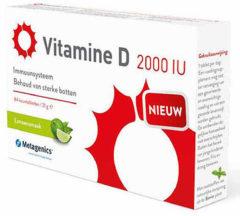 Metagenics - Vitamine D3 2000 IU 84 kauwtabletten