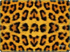 Bruine Muismat luipaard print - Sleevy
