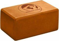 Trendy Sport Yoga blok - Yogablok - Yoga Block - 23 cm lang - 15 cm breed - 10 cm dik - Oranje