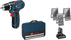Bosch Power Tools GSR 10,8-2-LI Prof. - Akku-Bohrschrauber m. Tasche und Zubeh. GSR 10,8-2-LI Prof., Aktionspreis