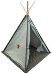 Trixie Overseas Tipi Tent Canvas Luxe Olive / Ice